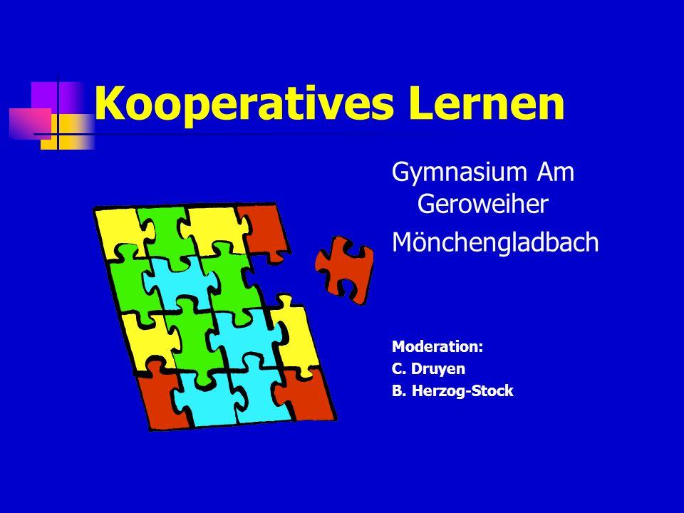 Kooperatives Lernen Gymnasium Am Geroweiher Mönchengladbach