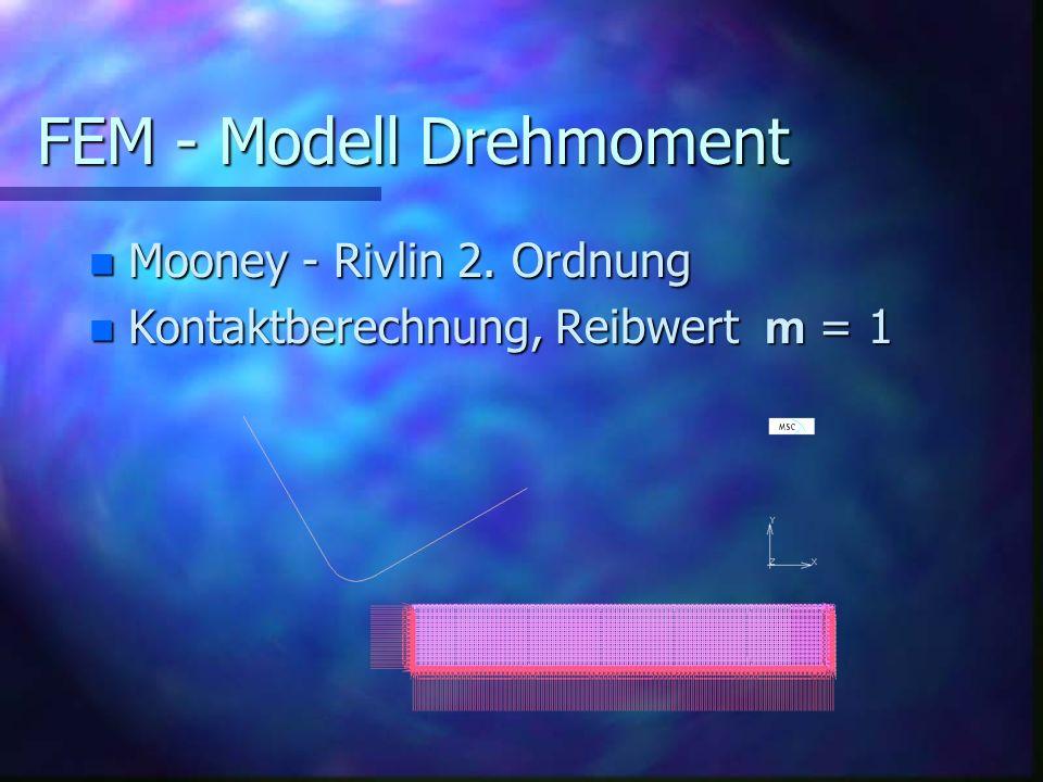 FEM - Modell Drehmoment
