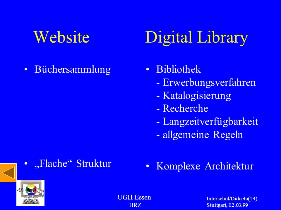 Website Digital Library