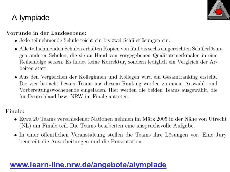 A-lympiade www.learn-line.nrw.de/angebote/alympiade