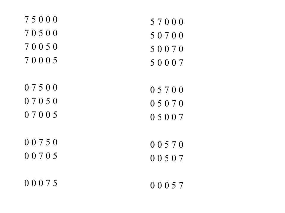 7 5 0 0 0 7 0 5 0 0. 7 0 0 5 0. 7 0 0 0 5. 0 7 5 0 0. 0 7 0 5 0. 0 7 0 0 5. 0 0 7 5 0. 0 0 7 0 5.