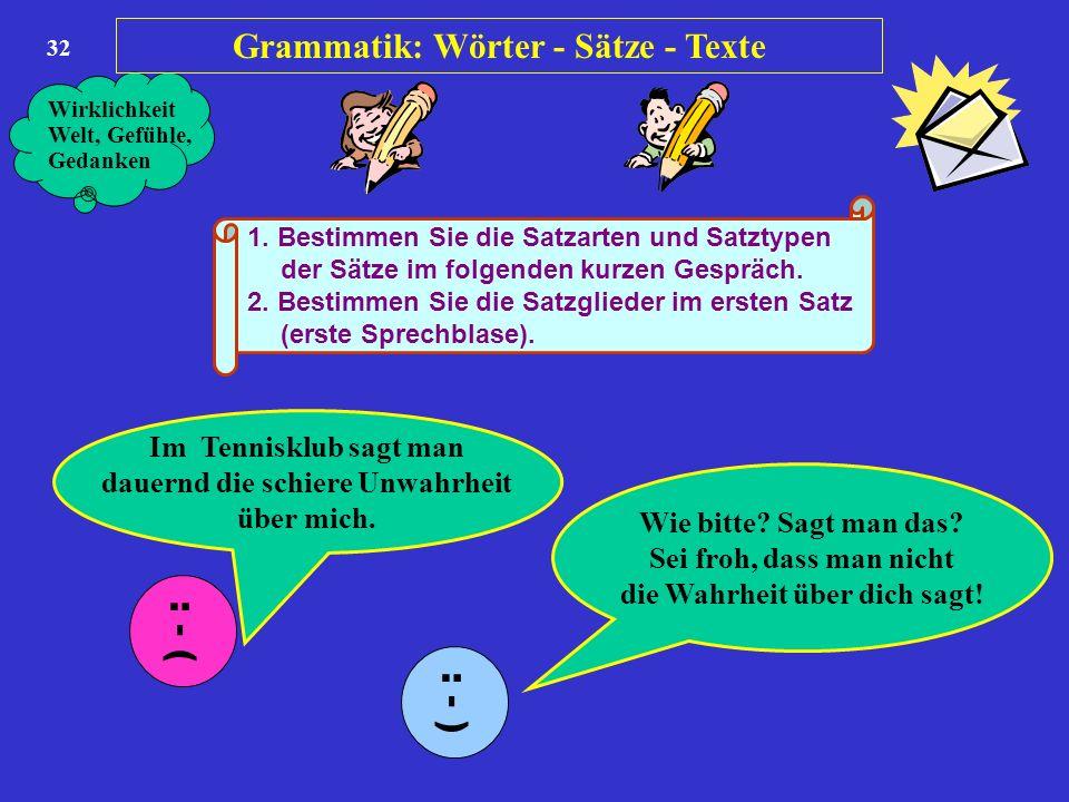 einer oder mehrere begriffe grammatik