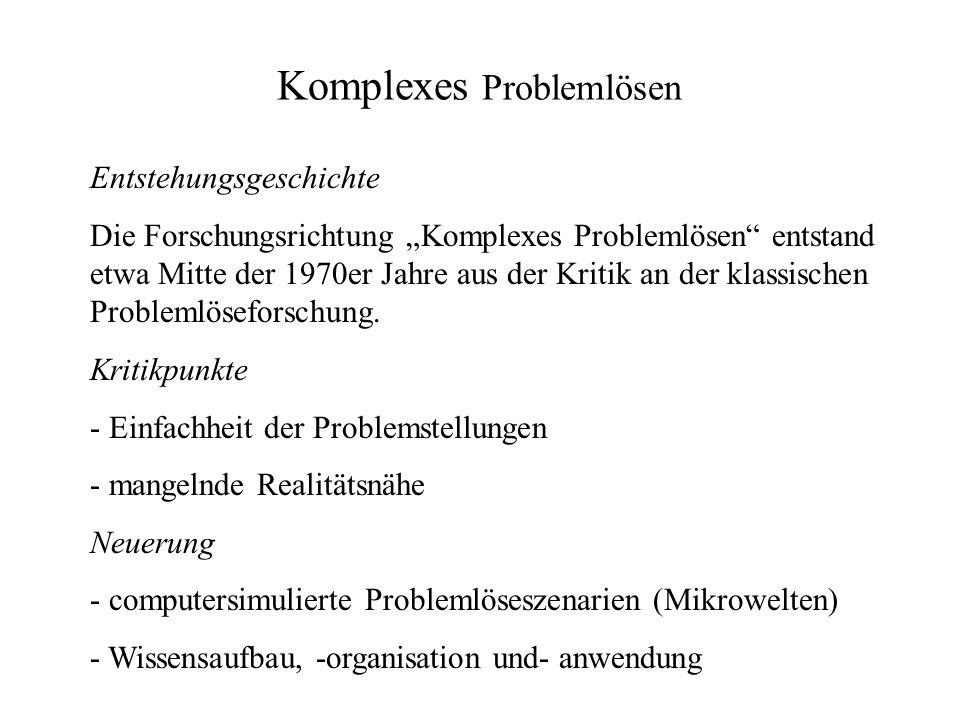 Komplexes Problemlösen