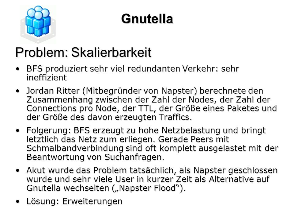 Problem: Skalierbarkeit