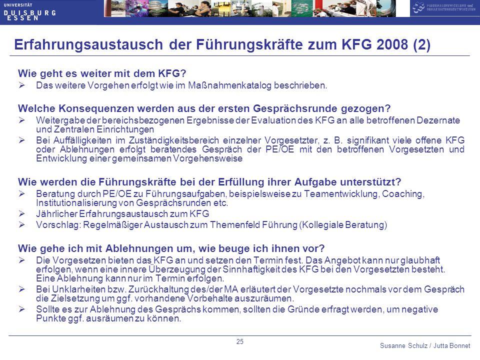 Erfahrungsaustausch der Führungskräfte zum KFG 2008 (2)