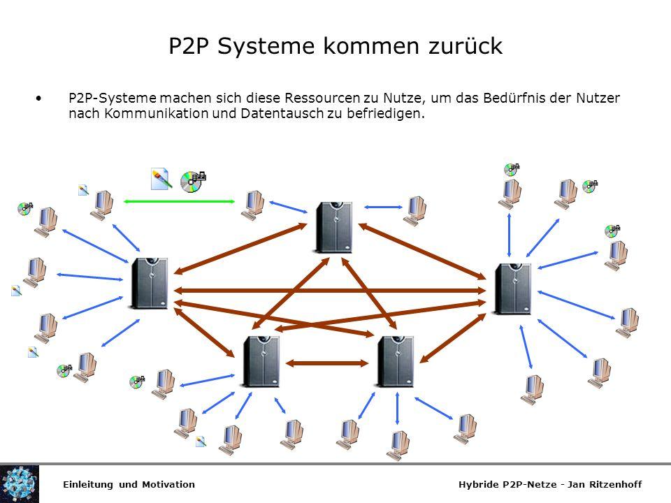 P2P Systeme kommen zurück