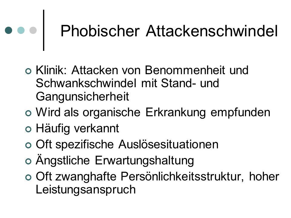 Phobischer Attackenschwindel