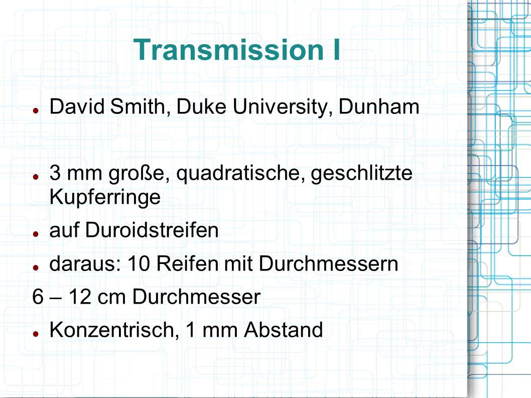 Transmission I David Smith, Duke University, Dunham