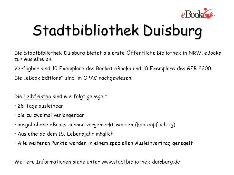 Stadtbibliothek Duisburg