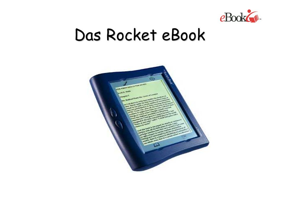 Das Rocket eBook
