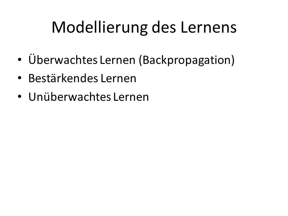 Modellierung des Lernens