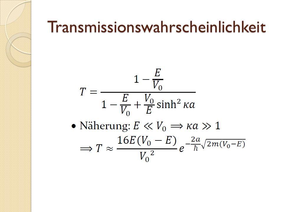 Transmissionswahrscheinlichkeit