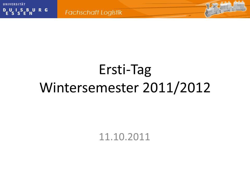 Ersti-Tag Wintersemester 2011/2012
