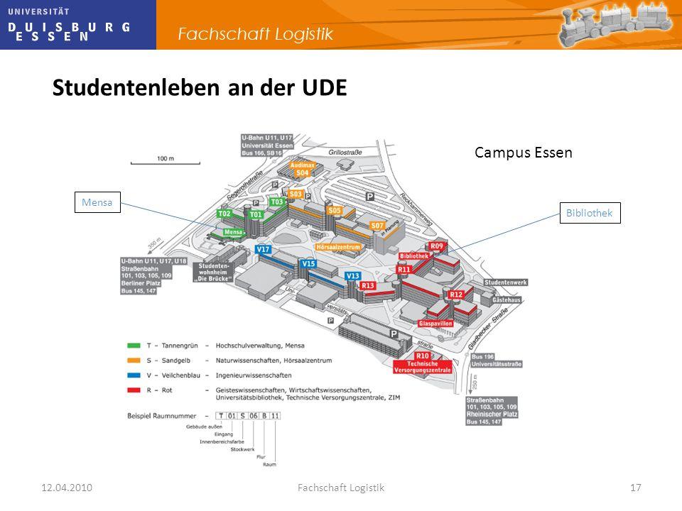 Studentenleben an der UDE