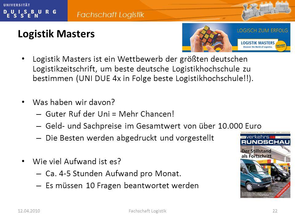 Logistik Masters