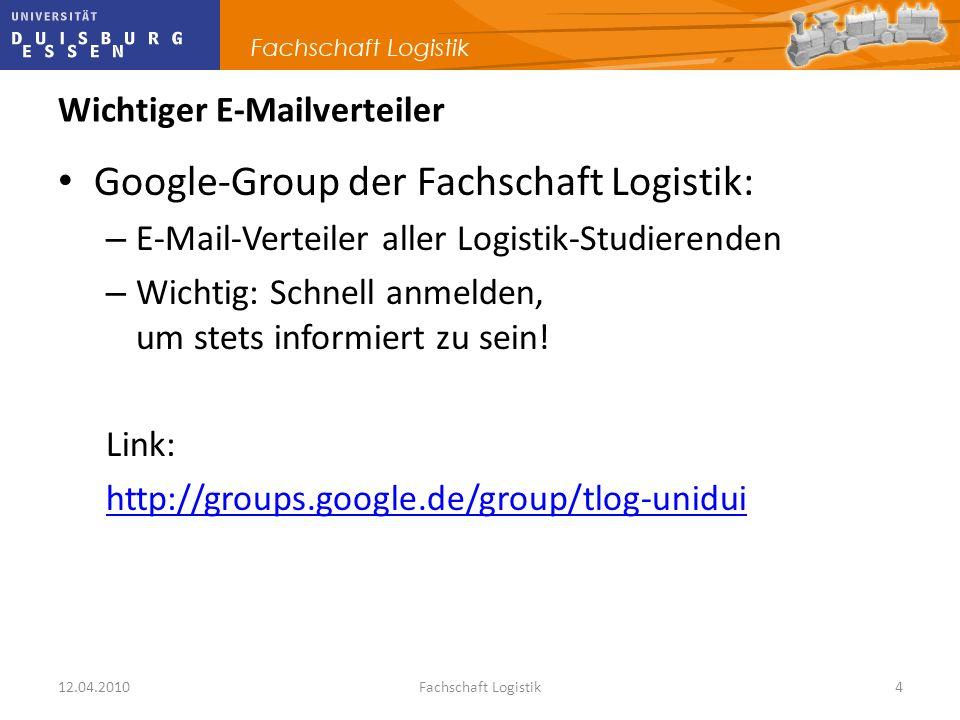 Wichtiger E-Mailverteiler