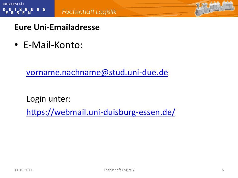 Eure Uni-Emailadresse
