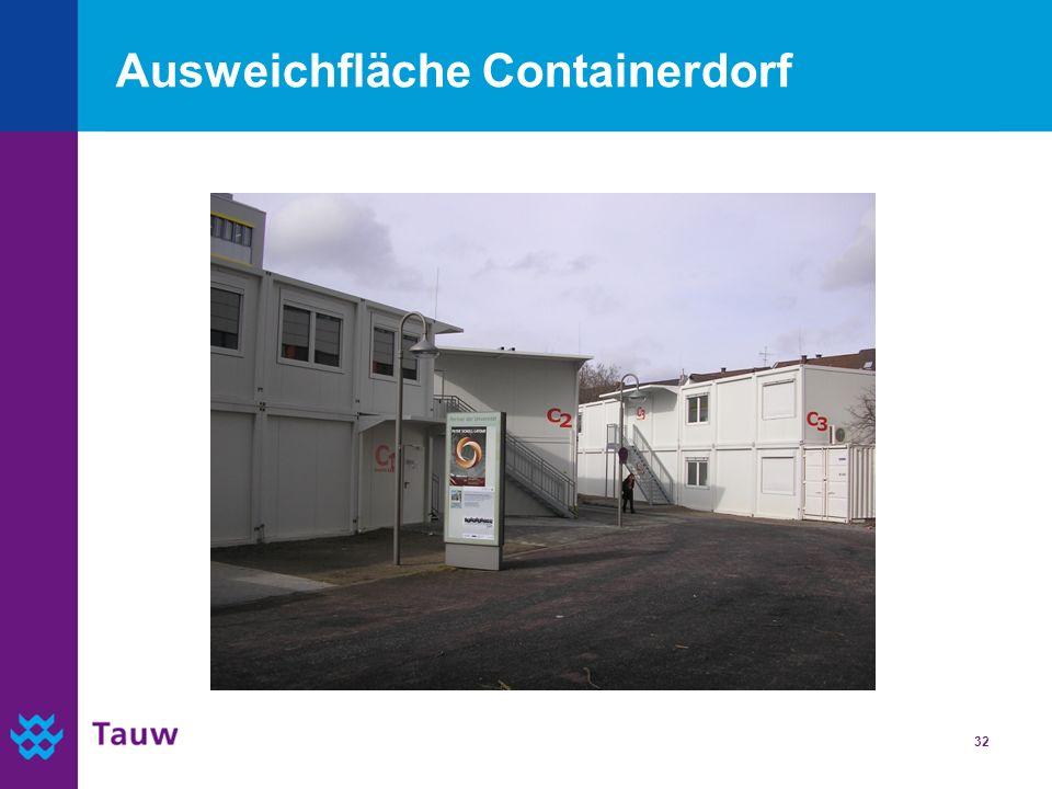 Ausweichfläche Containerdorf
