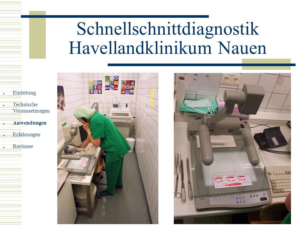 Schnellschnittdiagnostik Havellandklinikum Nauen