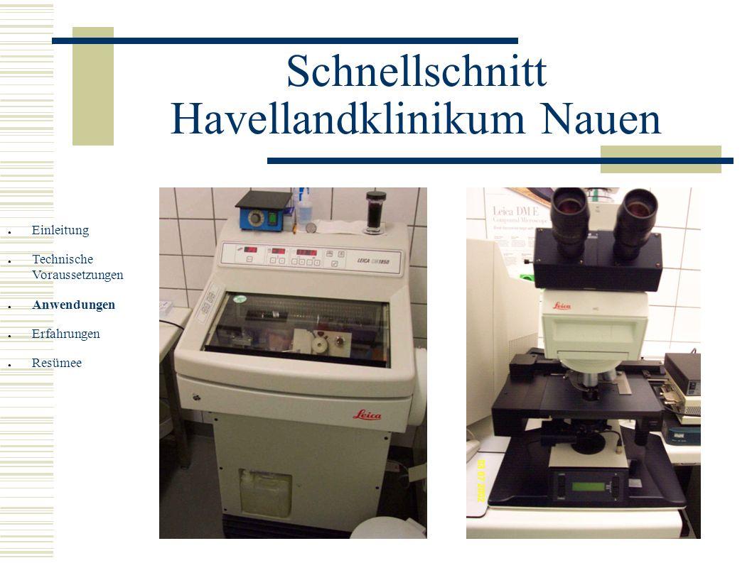 Schnellschnitt Havellandklinikum Nauen