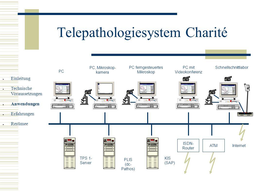 Telepathologiesystem Charité