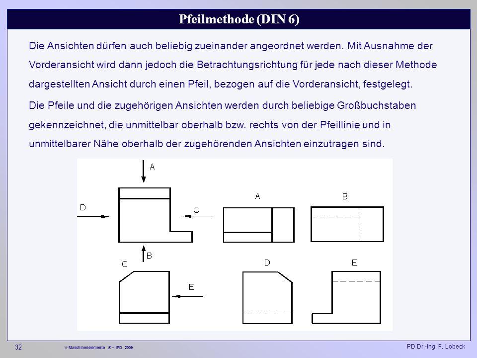 Pfeilmethode (DIN 6)