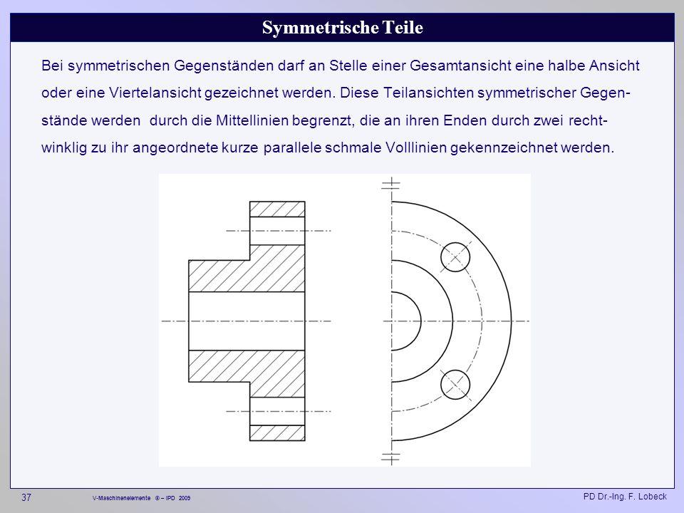 Symmetrische Teile