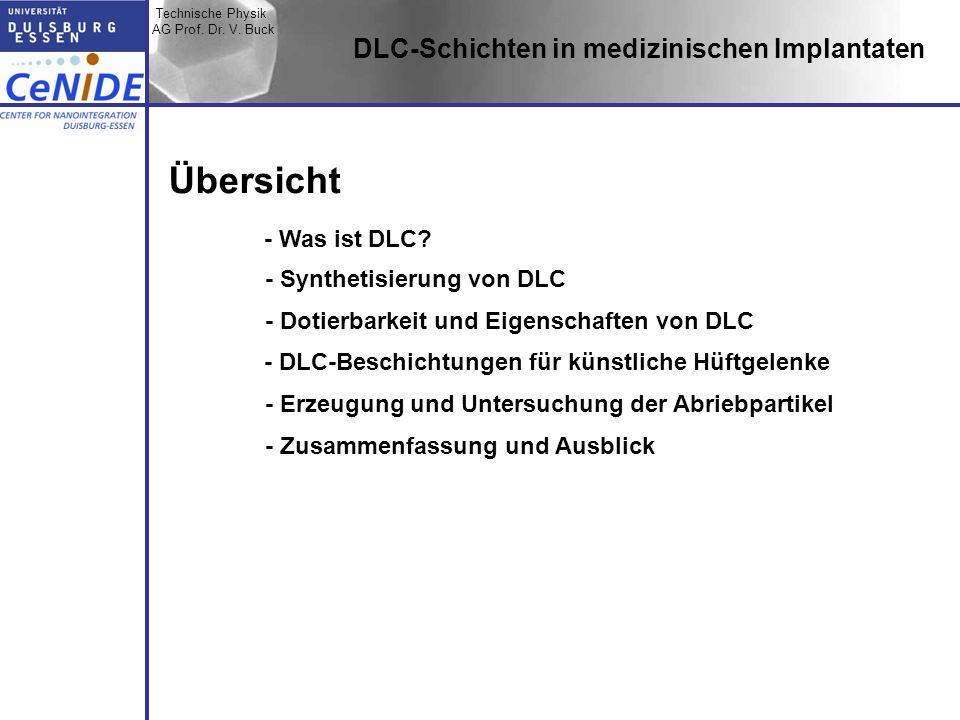 Übersicht DLC-Schichten in medizinischen Implantaten - Was ist DLC