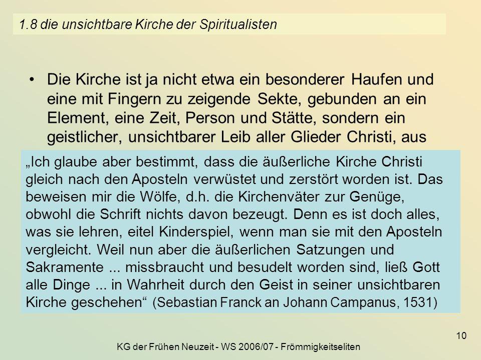 1.8 die unsichtbare Kirche der Spiritualisten