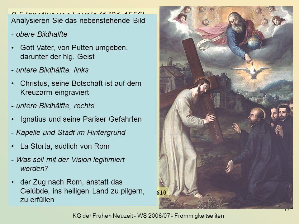 2.5 Ignatius von Loyola (1491-1556)