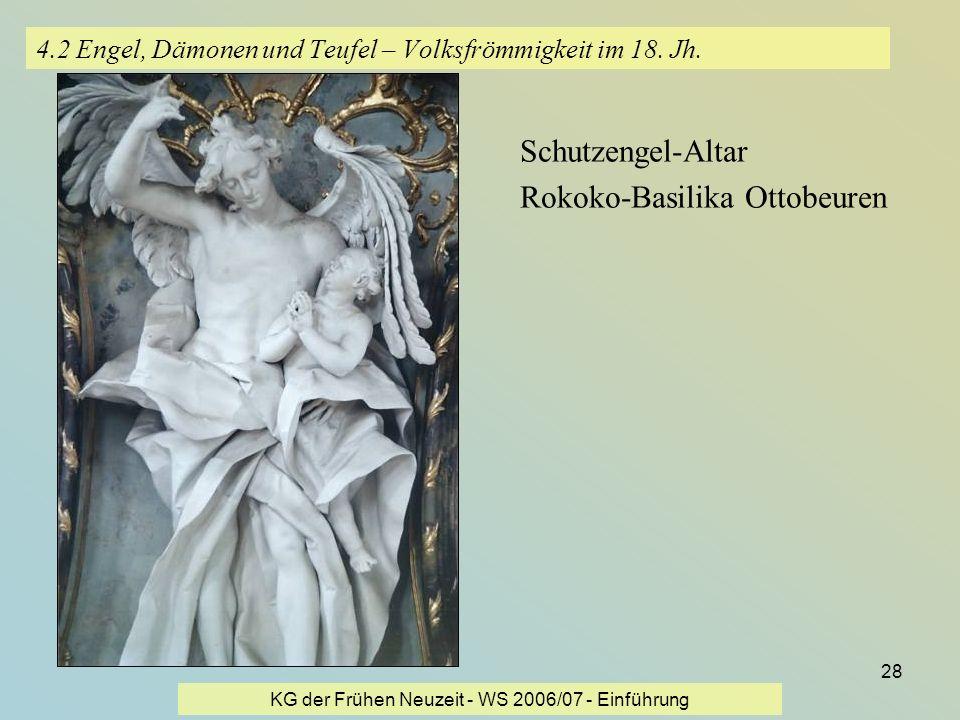 4.2 Engel, Dämonen und Teufel – Volksfrömmigkeit im 18. Jh.