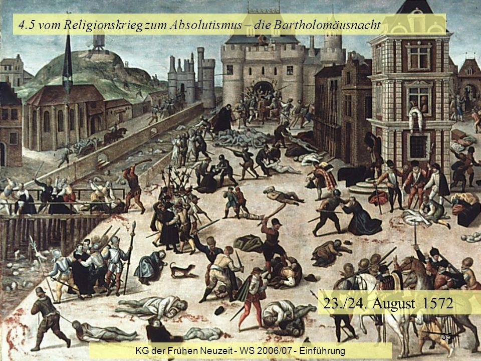 4.5 vom Religionskrieg zum Absolutismus – die Bartholomäusnacht