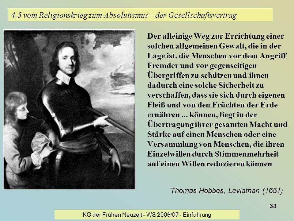 4.5 vom Religionskrieg zum Absolutismus – der Gesellschaftsvertrag