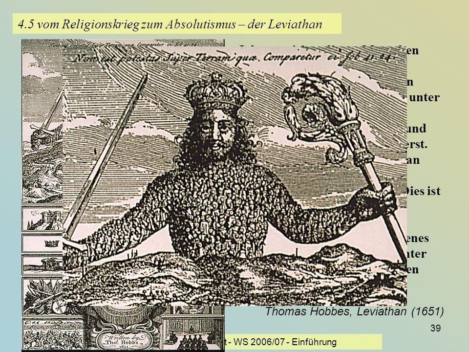 4.5 vom Religionskrieg zum Absolutismus – der Leviathan