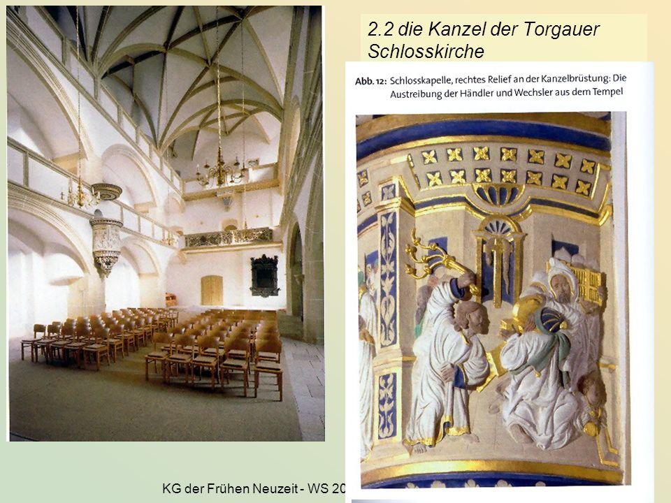 2.2 die Kanzel der Torgauer Schlosskirche