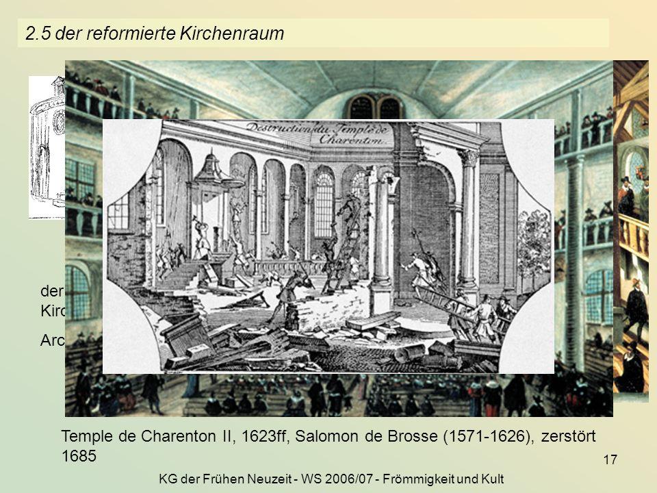 2.5 der reformierte Kirchenraum