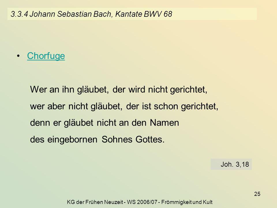 3.3.4 Johann Sebastian Bach, Kantate BWV 68