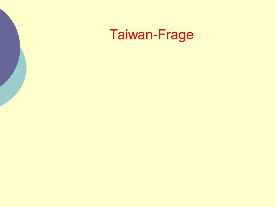 Taiwan-Frage