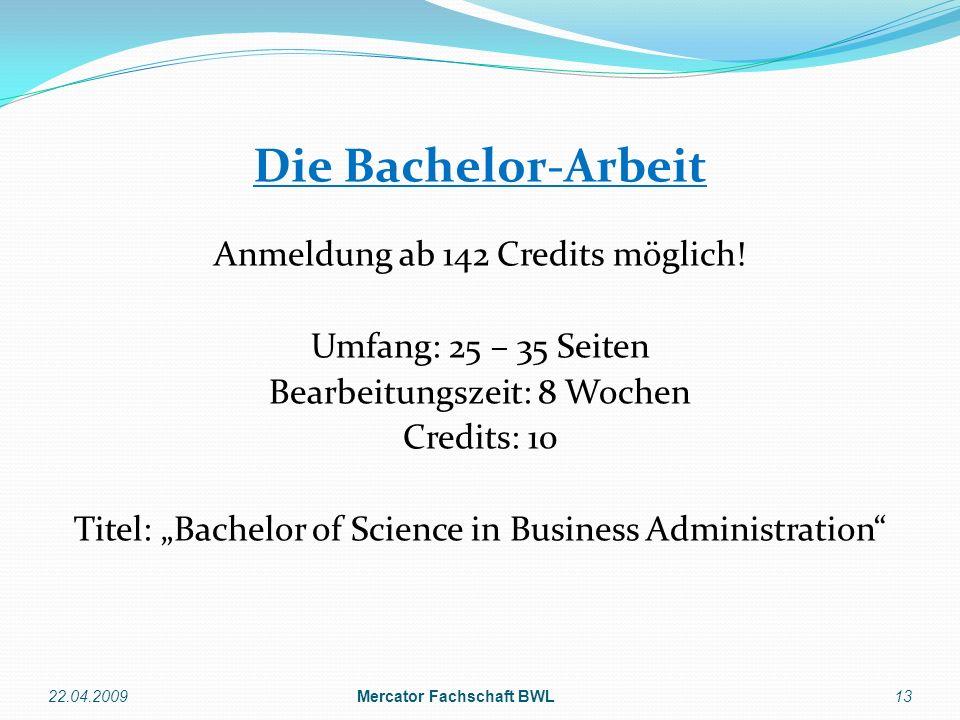 Mercator Fachschaft BWL