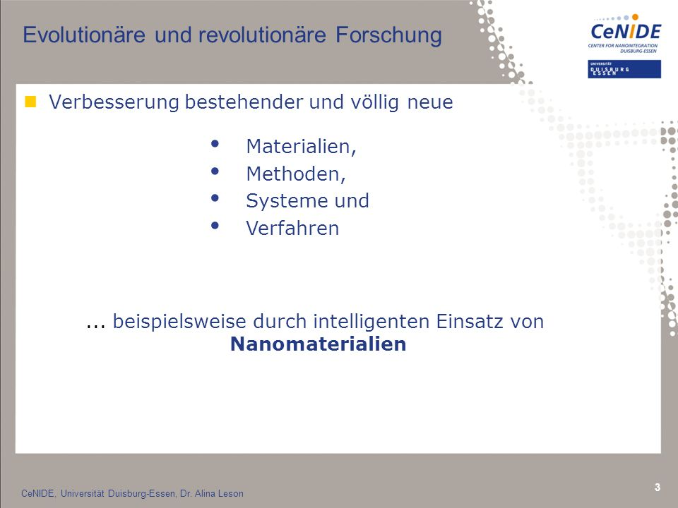 Evolutionäre und revolutionäre Forschung