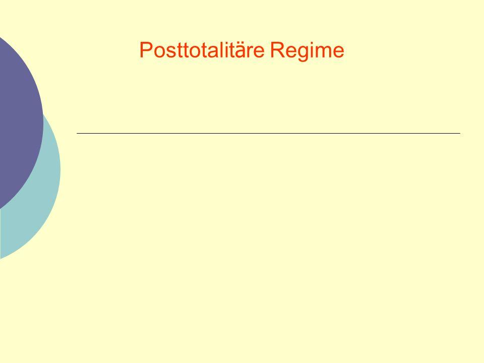 Posttotalitäre Regime