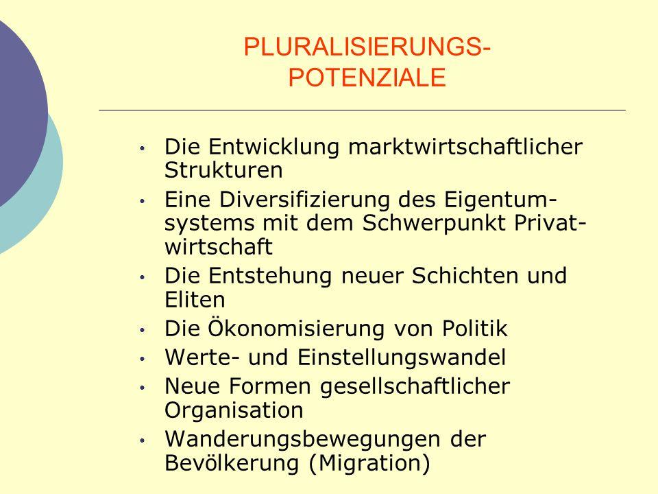 PLURALISIERUNGS- POTENZIALE