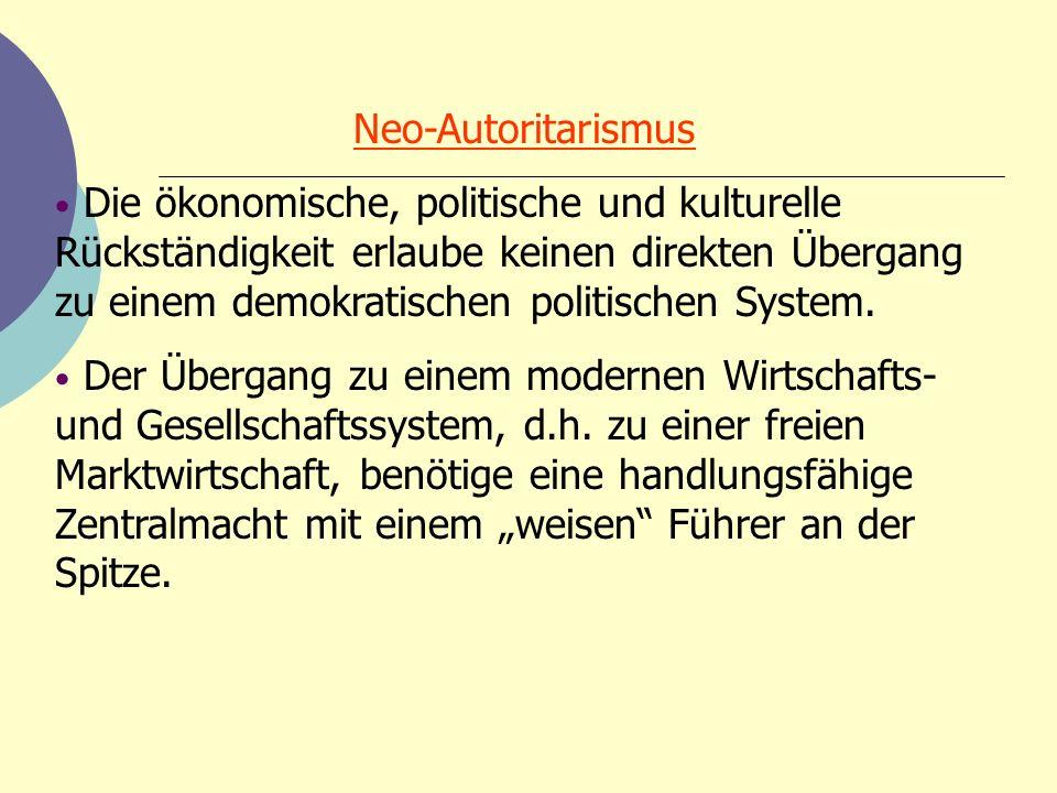 Neo-Autoritarismus