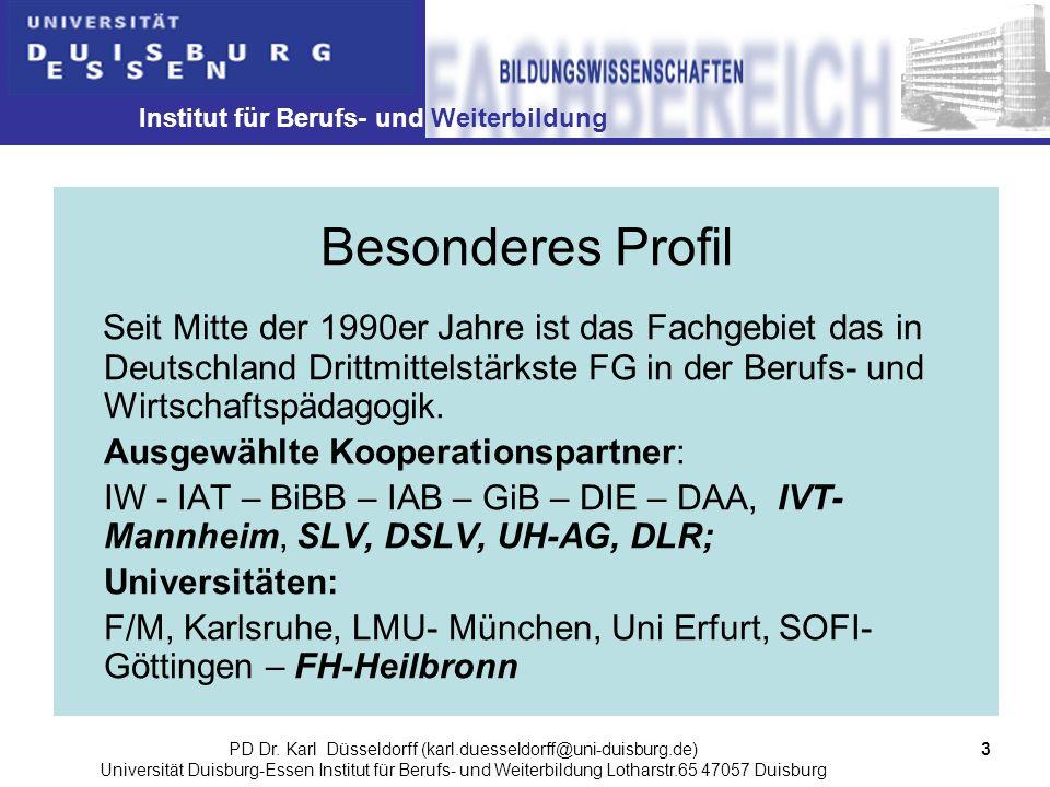 PD Dr. Karl Düsseldorff (karl.duesseldorff@uni-duisburg.de)