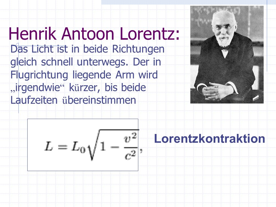 Henrik Antoon Lorentz: