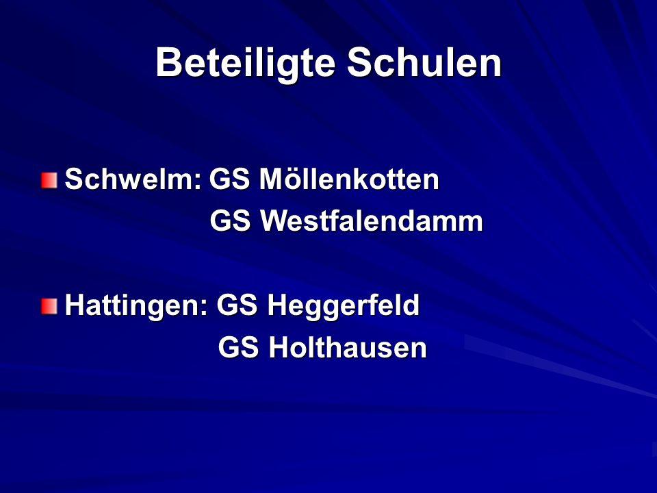 Beteiligte Schulen Schwelm: GS Möllenkotten GS Westfalendamm