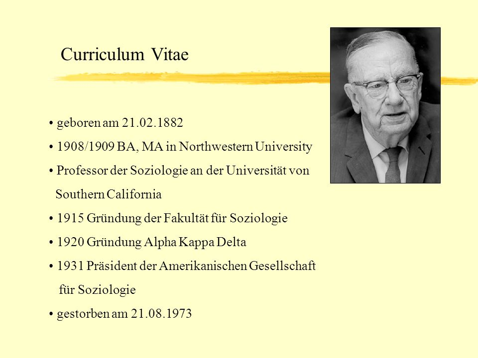 Curriculum Vitae geboren am 21.02.1882