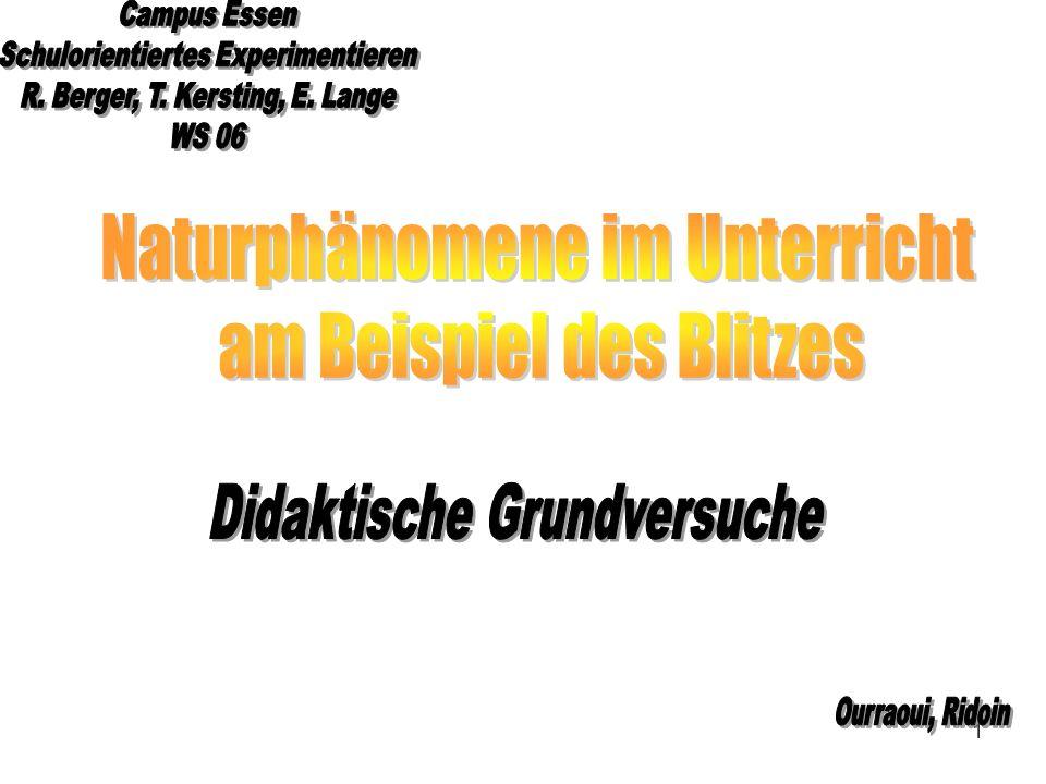 Naturphänomene im Unterricht am Beispiel des Blitzes - ppt video ...