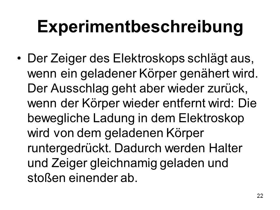 Experimentbeschreibung