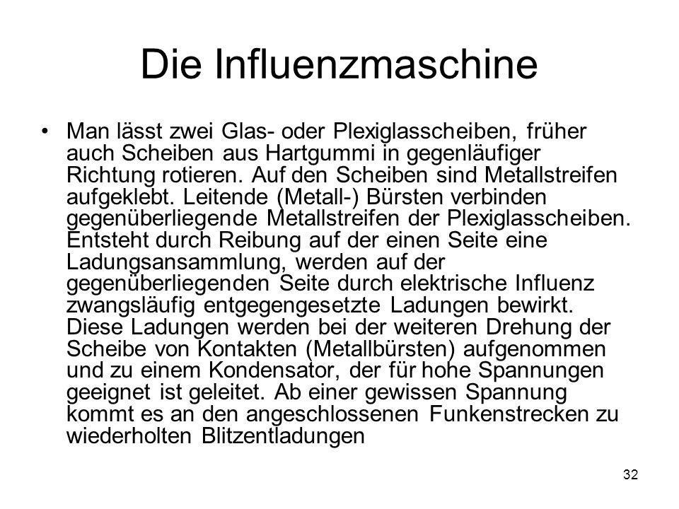 Die Influenzmaschine